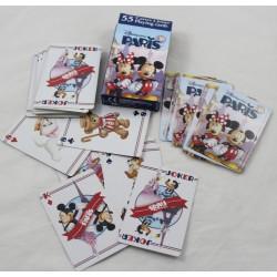 Cartes a jouer DISNEYLAND PARIS Mickey Minnie Tour Eiffel