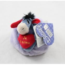 Stuff donkey stuff Bourriquet DISNEY NICOTOY cushion heart I love you 13 cm