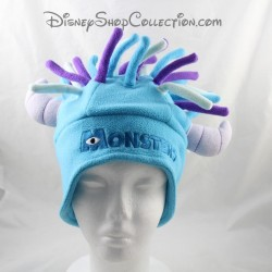 Monster cap Sully DISNEY PARKS Monsters and Co. dreadlocks white purple polar blue