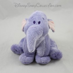 Peluche éléphant Lumpy NICOTOY Disney ami de Winnie l'ourson violet 14 cm