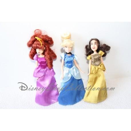 Mini poupée Cendrillon DISNEY STORE et ses soeurs Javotte et Anastasie 16 cm