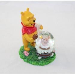 Snow globe Winnie l'ourson DISNEY STORE bain de Porcinet boule à neige 12 cm