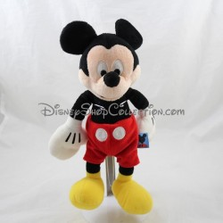 Peluche Mickey DISNEY classique short rouge 30 cm