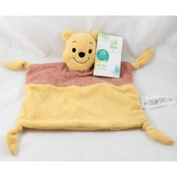 Doudou flat Winnie the Pooh DISNEY STORE rectangle Jean Christophe Disney Baby 30 cm