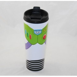 Thermos Buzz flash DISNEYLAND PARIS Toy Story travel mug with plastic lid 22 cm