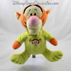 Peluche Tigrou NICOTOY Disney pyjama vert bébé 24 cm