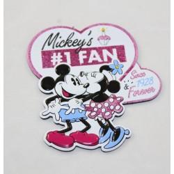 Mickey Minnie DISNEYLAND PARIS Mickey Fan Herz Disney 8 cm