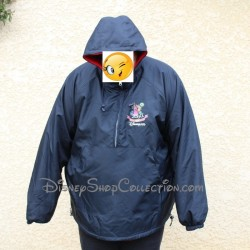 Manteau parka impermeable reversible polaire DISNEYLAND PARIS Millenium Crew Cast member Disney XL