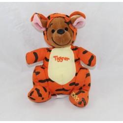 Peluche Petit Guru DISNEY STORE disguised as Tigger 2000 embroidered 18 cm