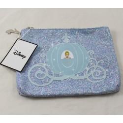 Cinderella DISNEY PRIMARK sequined pouch blue makeup kit