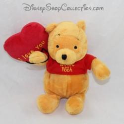 Winnie el cachorro de Pooh DISNEY NICOTOY globo corazón te amo 19 cm