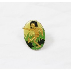 Pin's Mowgli DISNEY Le livre de la jungle ovale 3 cm