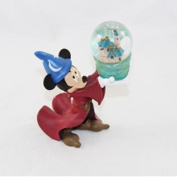 Snow globe Mickey Disney Fantasia the apprentice sorcerer figurine 14 cm snow globe