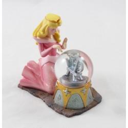 Snow globe Aurora DISNEY STORE The Sleeping Beauty sitting wheel 10 cm
