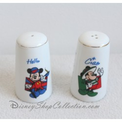 Salt and pepper DISNEYLAND PARIS Mickey Europe Hello set salt & pepper