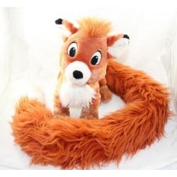 Peluche Rox fox DISNEYLAND PARIS Rox y Rouky larga cola