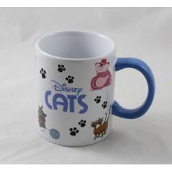Taza gato DISNEYLAND PARIS Cheshire Siamois Figaro ... 10 cm