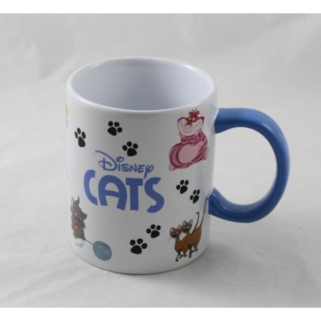 Mug cat DISNEYLAND PARIS Cheshire Siamois Figaro ... 10 cm