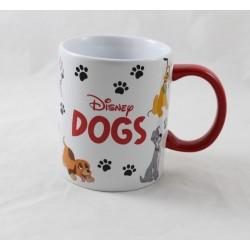 Mug chien DISNEYLAND PARIS Nana Lady Volt Rouky ... 10 cm