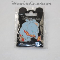 Pin's elephant DISNEYLAND PARIS Dumbo and mouse Timothy Disney 5 cm