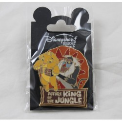 Pin's Rafiki and Simba DISNEYLAND RESORT PARIS The Baby Lion King Future King of the Jungle