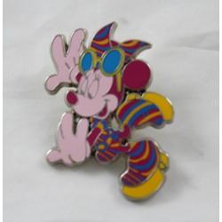 Pin's Minnie DISNEYLAND PARIS disco traje psicodélico 4 cm