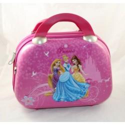 Vanity Princesses DISNEY pink suitcase Belle Cinderella Rapunzel 30 cm