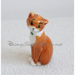 Figurine céramique Thomas O'Malley chat DISNEY Les Aristochats 6 cm