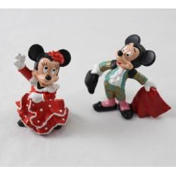 Figurine BULLYLAND DISNEY Mickey torero et Minnie danseuse de flamenco