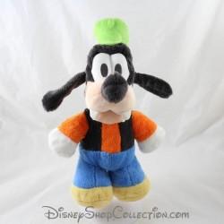 Peluche Dingo DISNEY Friend of Mickey Mouse green hat 30 cm
