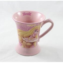 Princesas de taza DISNEY Aurora y Rosa Blancanieves 10 cm