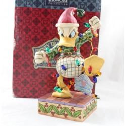 Figura Jim Shore Donald DISNEY TRADITIONS Resina High Strung Helper de Santas 20 cm