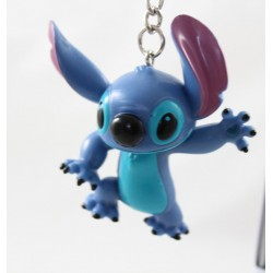 Porte clés Stitch DISNEYLAND PARIS Lilo et Stitch bleu figurine pvc 6 cm
