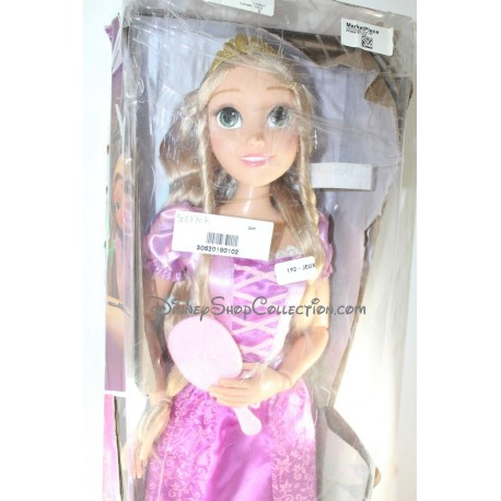 Giant princess doll DISNEY Rapunzel to style 85 cm