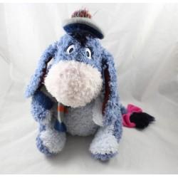 Peluche Bourriquet DISNEY STORE édition spéciale hiver bonnet 30 cm