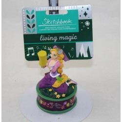 Ornement Raiponce DISNEY STORE Sketchbook living magic chantant Noël