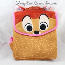 Disney Bambi beige brown velvet doe backpack 30 cm