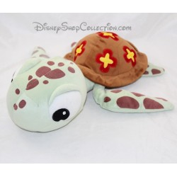 Peluche Squizz tortuga DISNEYLAND PARIS El mundo de Nemo Disney 37 cm