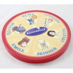 Book Ratatouille DISNEY PIXAR camembert portion cheese 6 mini cardboard books