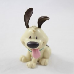 Figurine Petit Frère chien DISNEY STORE Mulan beige 7 cm