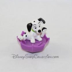Figurita juguete cachorro Mcdonald's McDo les 101 dálmatas de la olla de pintura Disney 6 cm