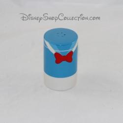 Salière Donald DISNEY costume Donald Duck bleu noeud rouge 8 cm