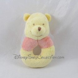 Rattle Winnie the red yellow DISNEY bear bell 14 cm
