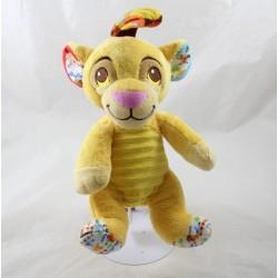 León peluche Simba DISNEY NICOTOY La campana de rey león impreso 23 cm