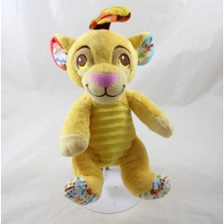 Lion peluche Simba DISNEY NICOTOY The printed lion king bell 23 cm