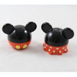 Set sel et poivre DISNEY Mickey Minnie robe boule rouge noir blanc salt & pepper