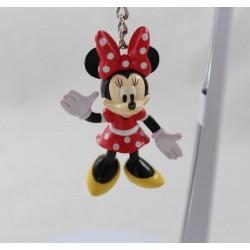 Key door Minnie DISNEY figurine classic pvc dress red white polka dots 8 cm