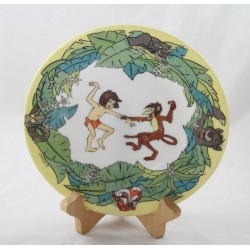 Plate The jungle book DISNEY ARCOPAL Mowgli Baloo Kaa Sherkan Bagheera ceramic