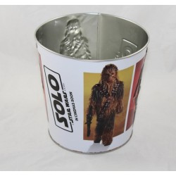 STAR WARS Pop Corn Bucket The Latest Disney Metal Jedi 16 cm