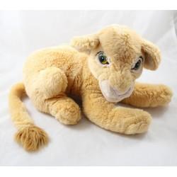 Cachorro leonés Nala DISNEY El antiguo Rey León alargado ojos verdes 33 cm